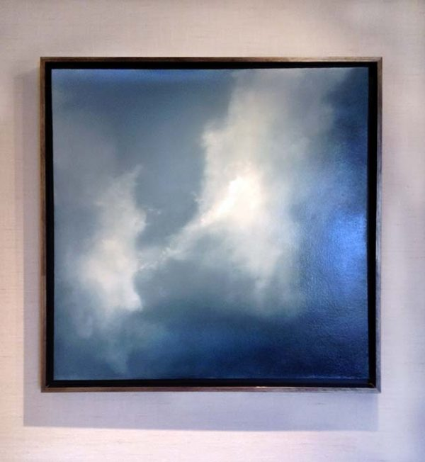 Suzanne Clifford-Clark framed painting Sky Dance
