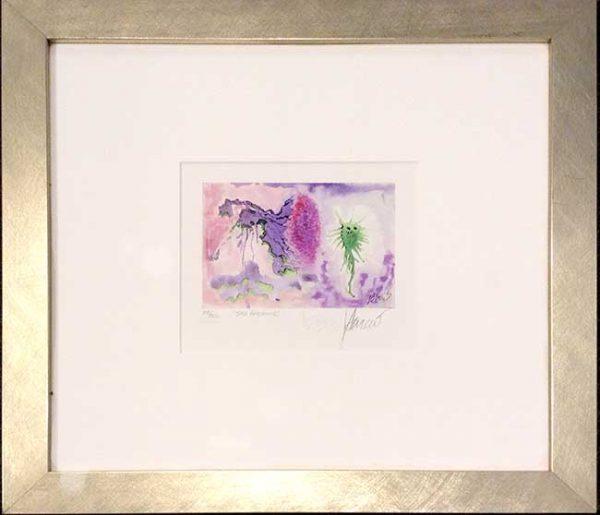 Jerry Garcia - Sea Anemone Framed