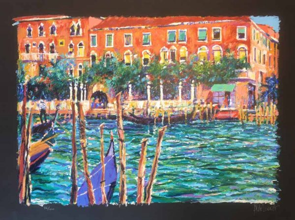 Aldo Luongo - Springtime in Venice with Black Paper