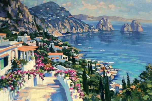 Howard Behrens - Isle of Capri Amalfi Coast Italy