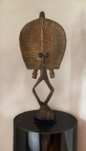 Small bakota african statue sculpture from Equi tribe cameroon