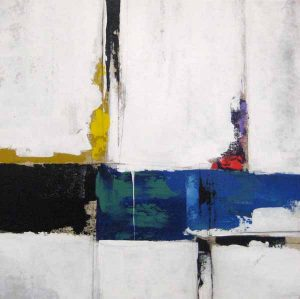 Sydney Edmunds Modern Abstract painting