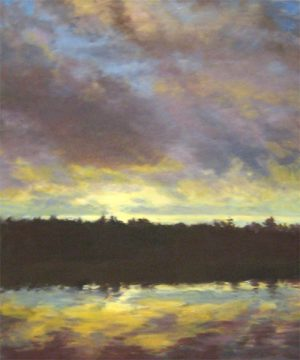 Lynne Adams Acadia Sunset oil on canvas