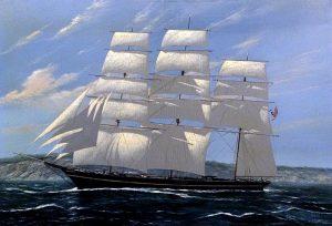 Scott Duncan American Clipper clipper ship sailing on ocean