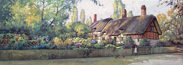 Paul Landry - An English Cottage