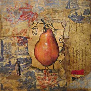 Autumn Pear Jeanette Staley collage