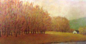 Ken Elliott - Butterscotch Trees (25x45 giclee)