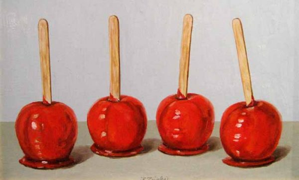 Candy Apples (9x14 oil on board)