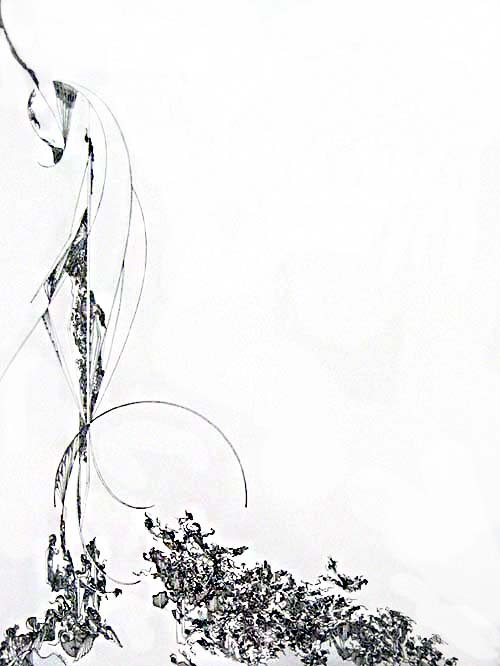 Gary Smith Abstract drawing with intricate detail