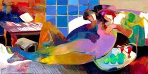 Hessam Abrishami - Essence of Love Limited Edition Giclee on Canvas