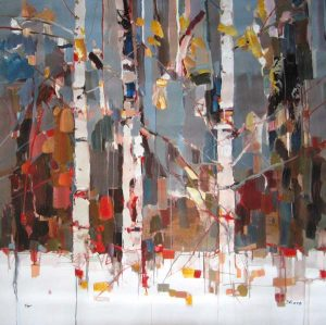 Josef Kote - Expressions (48x48 giclee on canvas)
