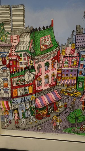 Charles Fazzino - From Greenwich Village