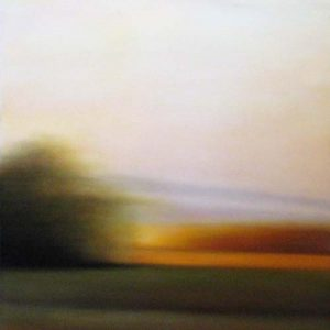 Don Scott MacDonald Contemporary Oil on Canvas of Landscape at Sunset