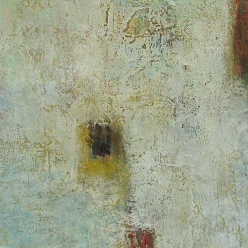 Jeff Ringdahl - Abstract - Abstract painting with gray and brown squares