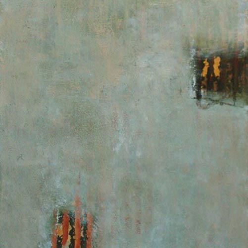 Jeff Ringdahl - Abstract - Abstract painting with gray and two squares