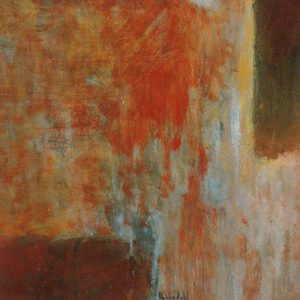 Jeff Ringdahl - Abstract - Abstract painting with red and orange
