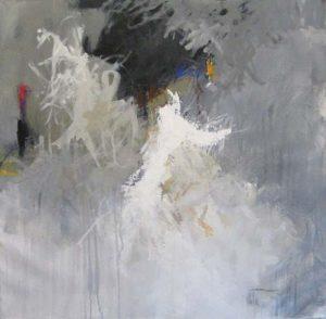 Jive Talk (40x40 oil on canvas)