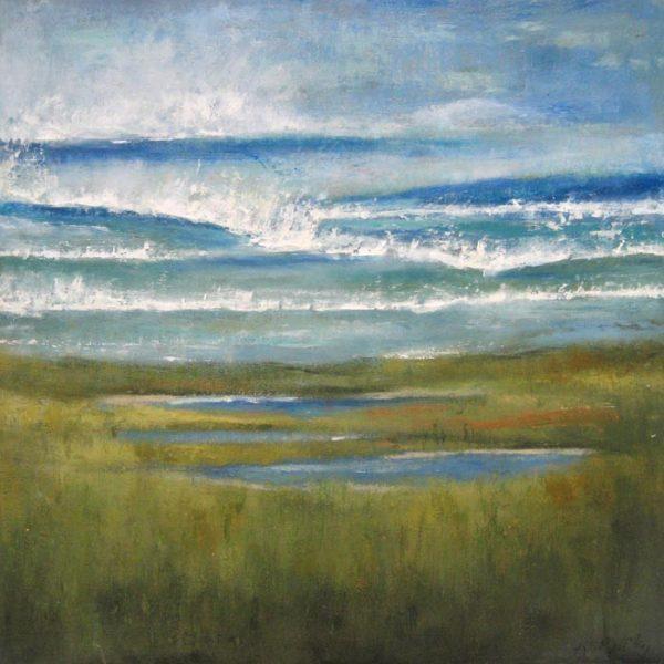 Kathleen Reilley Marsh Landscape to Seascape on Board