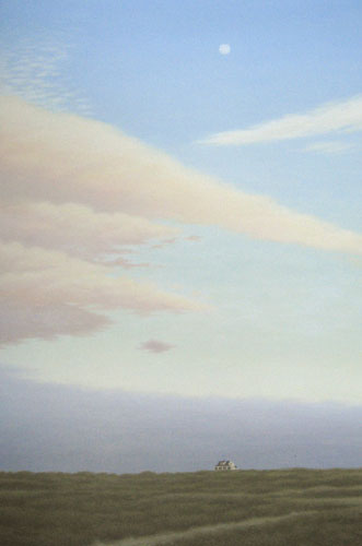 Moonrise Over Tuckernuck Island (36x24 oil on canvas)