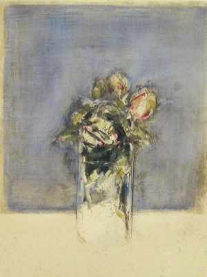 Alessandro Nocentini floral etching on paper