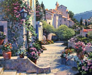 Howard Behrens - Old World Charm (36x44 serigraph on paper)