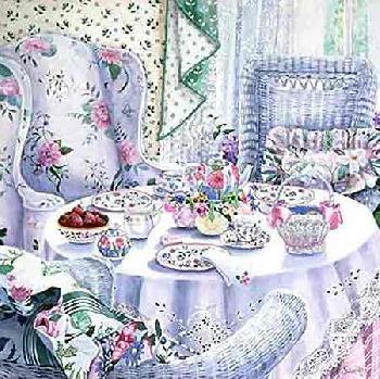 Susan Rios - Olivias Place (34x35 serigraph on paper)