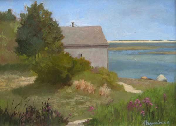 Maryalice Eizenberg Overlook (9x12 oil on canvas)