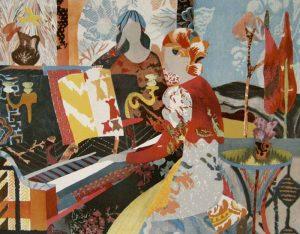 Antonio Sereix - Piano (20x25 lithograph on paper)