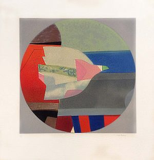 Max Papart - Primavera print of abstract bird and shapes