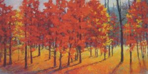 Ken Elliott - Red Run (25x45 giclee)