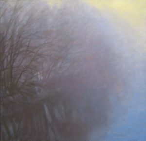 Lynne Adams River Fog oil on canvas