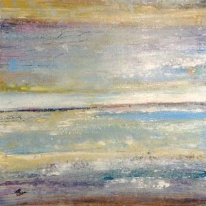 Helen Zarin Contemporary Oil Painting on Canvas of Contemporary Seascape