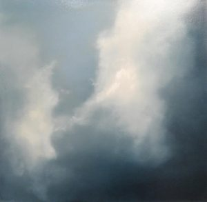 Suzanne Clifford-Clark Sky Dance (30x30 oil on canvas)
