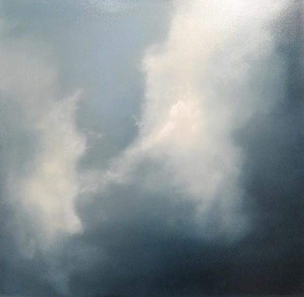 Suzanne Clifford-Clark Sky Dance (30x30 oil on canvas)