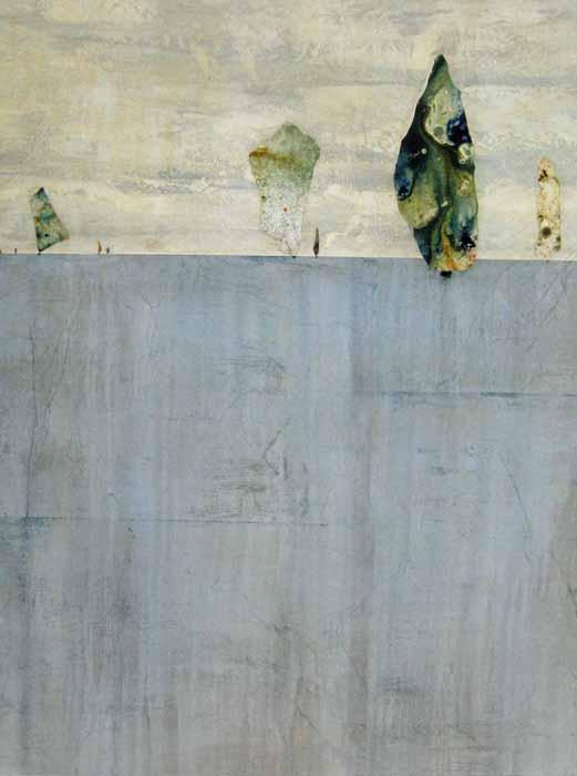 Swimmingly (60x45 mixed media on canvas)