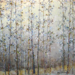 Jeff Koehn Contemporary Forest of Aspen Trees in Colorado