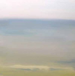 Dannielle Mick Green and Blue Ocean or Sea Scape Wave