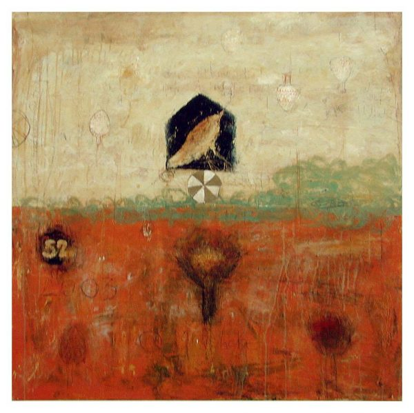 Marti Somers - We Play (20x20 giclee on paper)