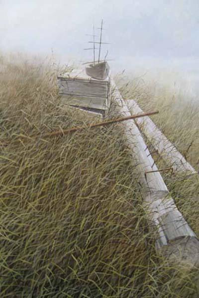 Flying Dutchman (36x24 oil on canvas)