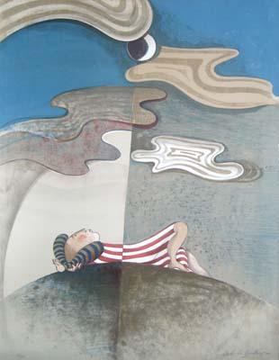 Graciela Boulanger - Dream (48x35 lithograph on paper)