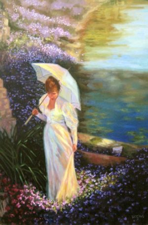Kathy Beckus Morning Light (36x24 oil on canvas)