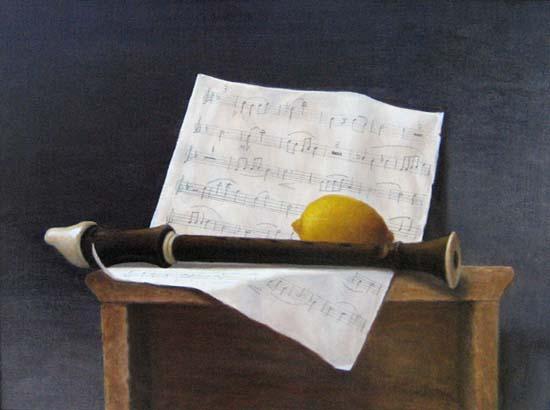 Sweet Music (12x16 oil on board)