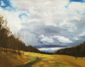 Gathering Storm (24x30 oil on canvas)