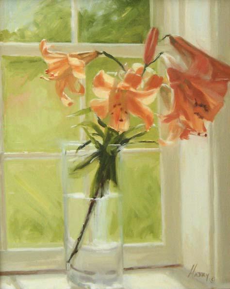 Sunlight on Amber (20x16 oil on canvas)