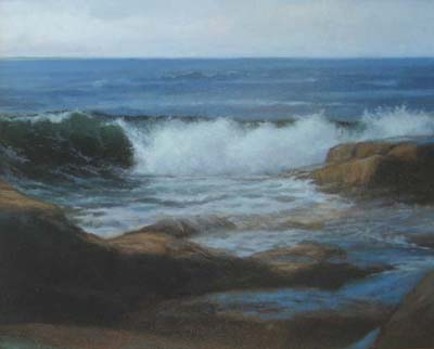 Atlantic (16x20 oil on canvas)