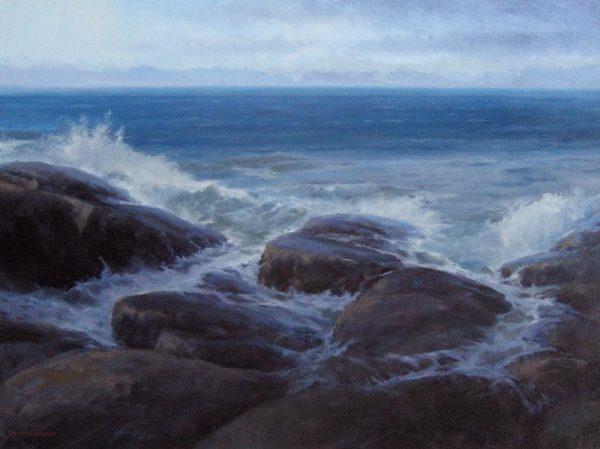 Breaking Edge (30x40 oil on canvas)