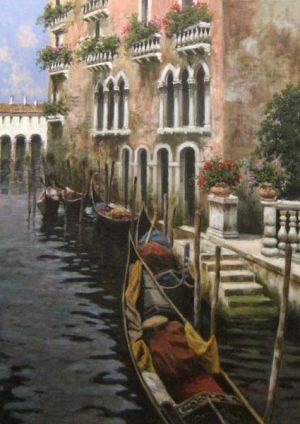 Antonio Sannino Venice painting