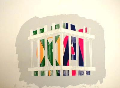 James Rosenquist - Stasik 2 (22x30 etching on paper)