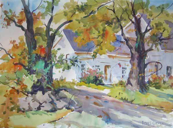Century Farm 2 (22x30 watercolor)