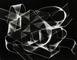 Peter Dreyer - Ribbon Photogram #3 (11x14 photograph)